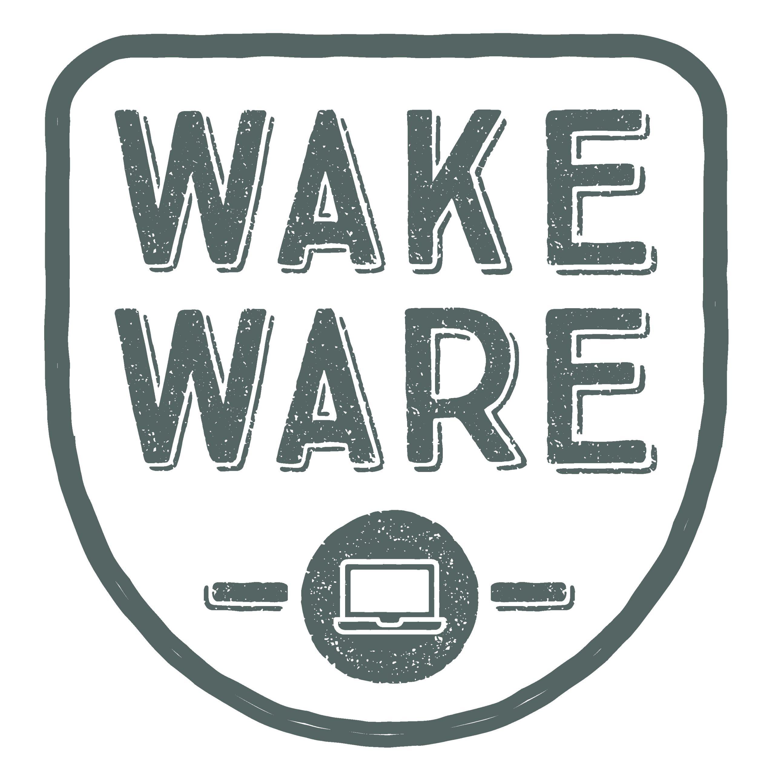 WakeWare Badge