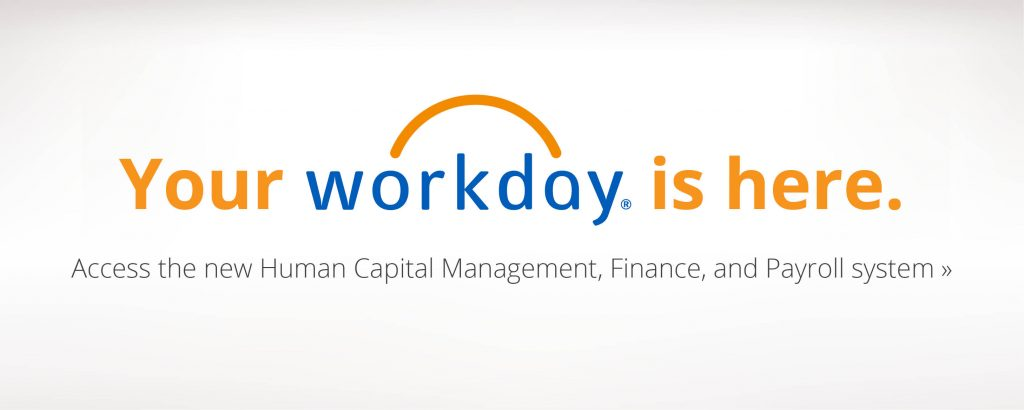 Workday is here!