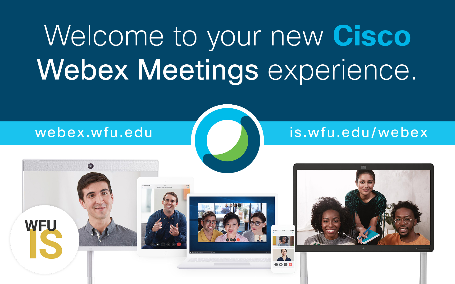 New Webex is LIVE!