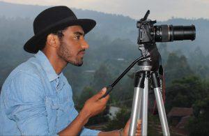 Wubetu Shimelash with camera