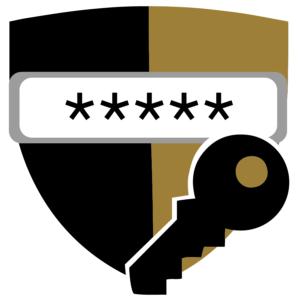 logo for password management portal