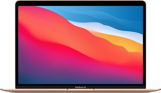 image of 2021 MacBook Air, open