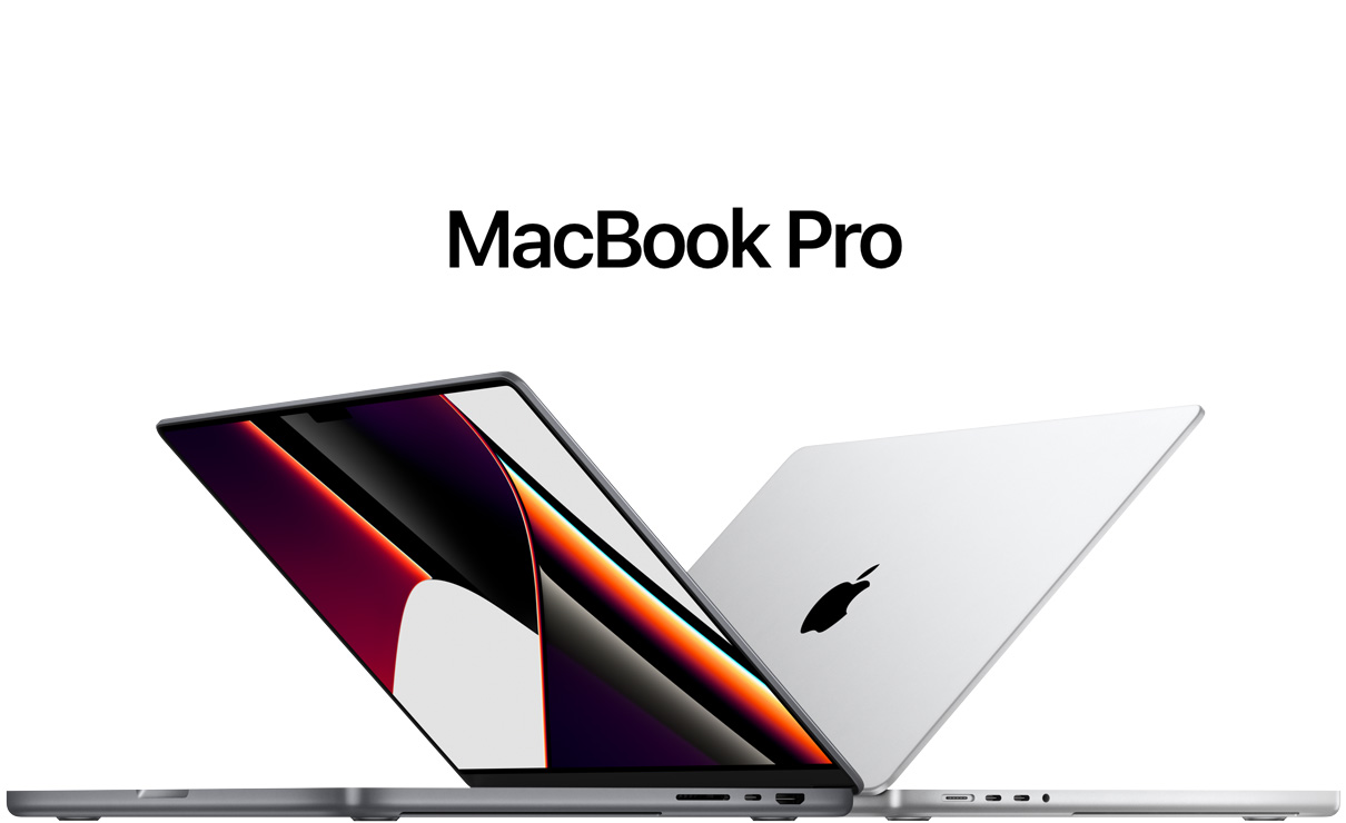 picture of new MacBook Pro computers